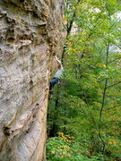 Rock Climbing Photo: Todd on Super Dario, RRG.