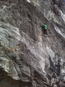 Rock Climbing Photo: Chris Deulen lost amidst the great unknown chossfe...