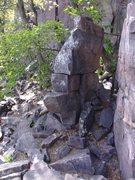 Rock Climbing Photo: Oh yeah, the Saddle.