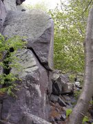 Rock Climbing Photo: Boulder up and right of the Flatiron, past the Cap...