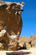 Rock Climbing Photo: Lana Little on Big Chicken. photo: Sulli