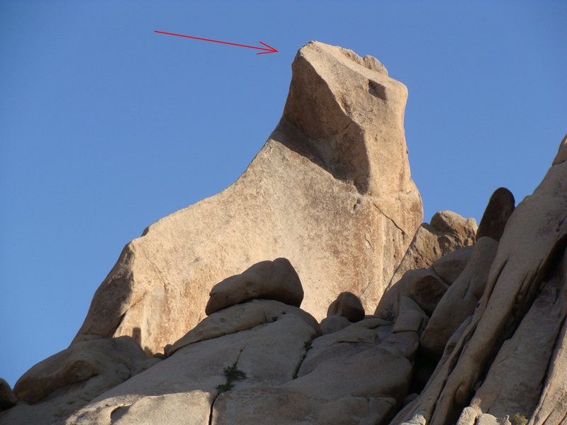 Rock Climbing Photo: Trac II summits where the hidden face meets the co...
