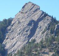 Rock Climbing Photo: Fandango Variation (6 pitches).