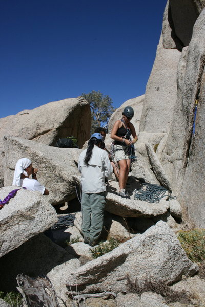 Grapevine Canyon<br> Our first stop Committee Crag