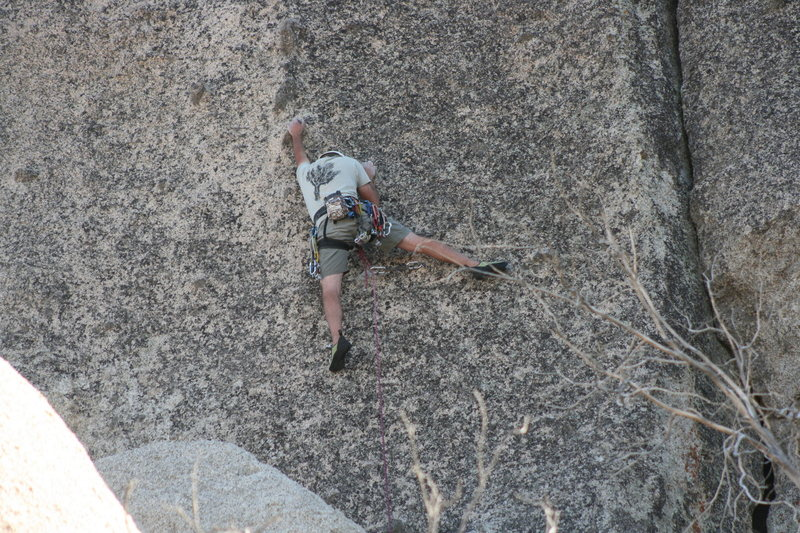 Grapevine Canyon<br> Nathan on Wook'n pa Nub