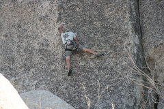 Rock Climbing Photo: Grapevine Canyon Nathan on Wook'n pa Nub
