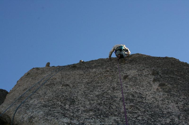 Rock Climbing Photo: Grapevine Canyon Albert on Wook'n pa Nub