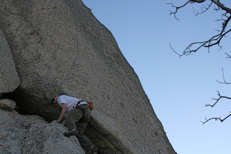 Grapevine Canyon<br> Me on the lower part of Nice Melons