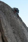 Rock Climbing Photo: Grapevine Canyon Albert on Nice Melons