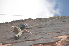 Rock Climbing Photo: Dan on Panty Raid