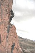 Rock Climbing Photo: Cassondra having some fun.