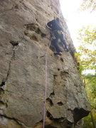 Rock Climbing Photo: The arete is fun.