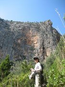 Rock Climbing Photo: at Sa Gubia in Mallorca, Spain