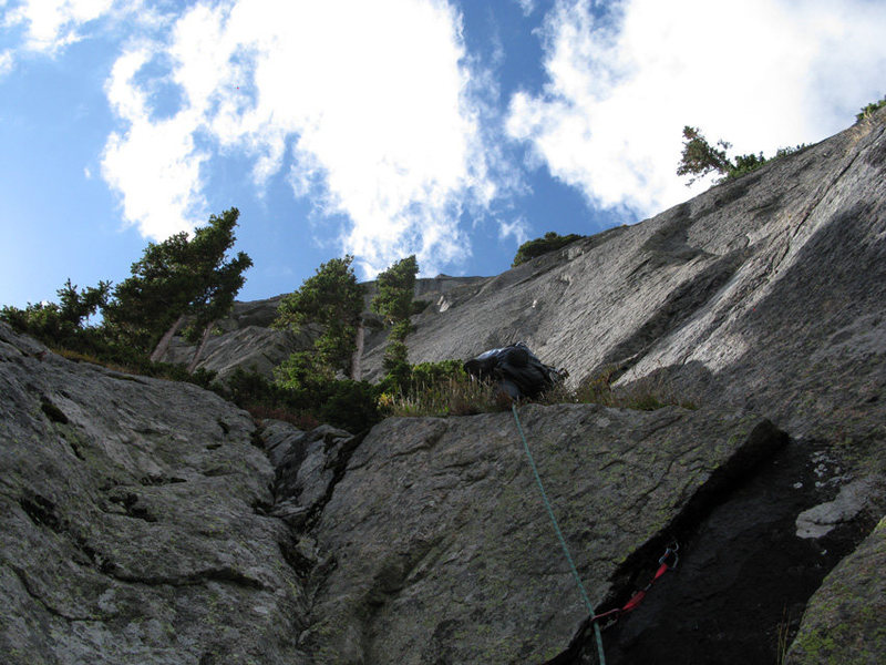 Rock Climbing Photo: Pitch 3.