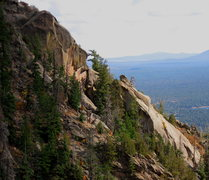 Rock Climbing Photo: Looking at the Red Dragon area from Devils Chair (...