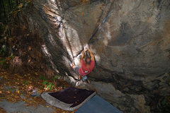 Rock Climbing Photo: Matt Johns on Jimminy Cricket V4