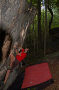 Rock Climbing Photo: Tim on Jimminy Cricket V4