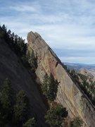 Rock Climbing Photo: South Face of GMP.