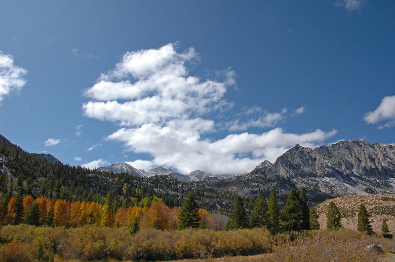 Rock Climbing Photo: Fall '09 near North Lake