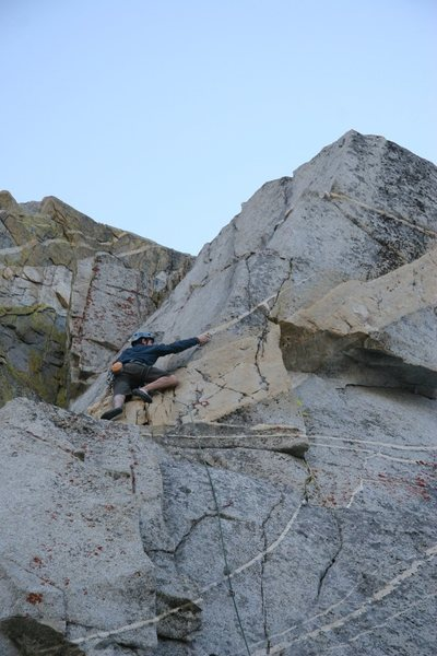 Tim midway on But I Don't Drink Scotch, 5.10a