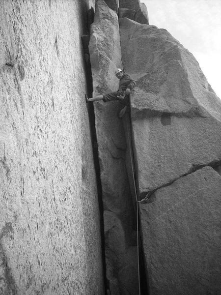 Rock Climbing Photo: fun chimneying