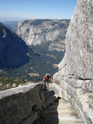 Rock Climbing Photo: A really cool feature we found while scrambling th...