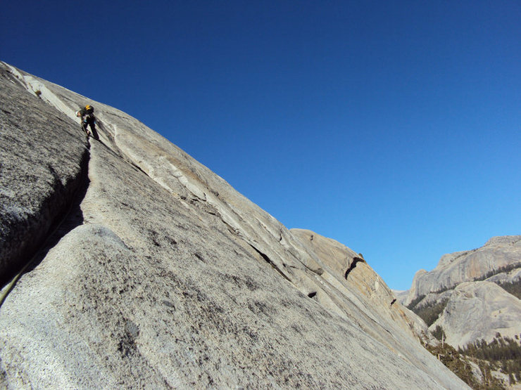 Rock Climbing Photo: we did a variation breaking right at the end to so...