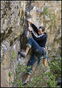 Rock Climbing Photo: Me on some route in Post Falls, Idaho