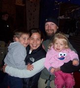 Rock Climbing Photo: Family at the Gym