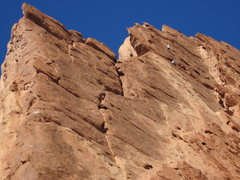 Rock Climbing Photo: Tele photo P4