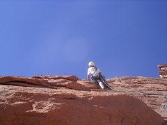 Rock Climbing Photo: Pitch 4 . Photo Pat Moe