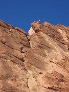 Rock Climbing Photo: Tele photo P4