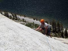 Rock Climbing Photo: Steeper than it looks!