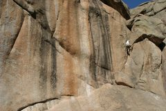 Rock Climbing Photo: Cornered 5.9