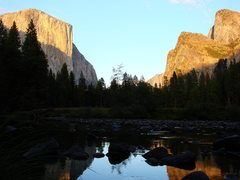 Rock Climbing Photo: From the western end of the Valley, sunset, Sept 0...