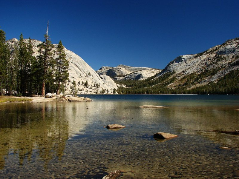 Rock Climbing Photo: Tenaya Lake, Sept 09.  Simply amazing.