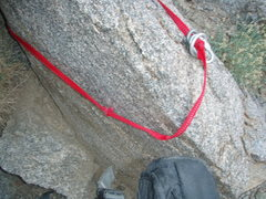Rock Climbing Photo: Temple Crag rappel anchor- Why you should always c...