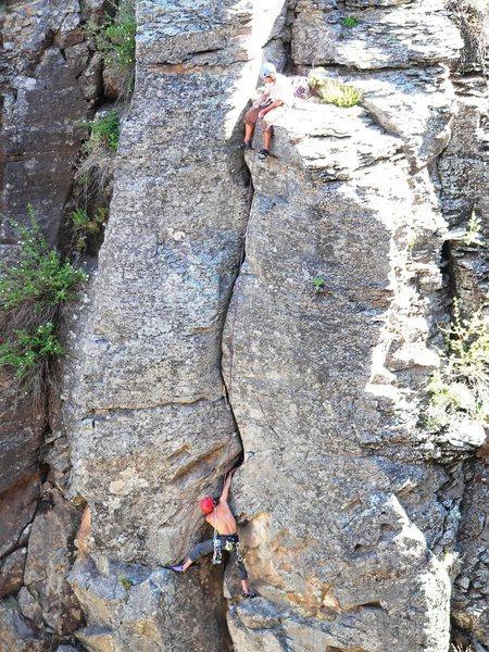 Rock Climbing Photo: Aqualung