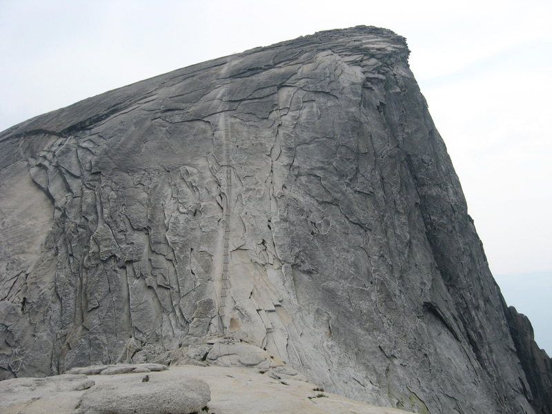 Rock Climbing Photo: Half dome from the steps