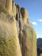 Rock Climbing Photo: This is the shoulder of the main Rockfellows Dome,...