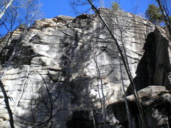Rock Climbing Photo: Finger Food Wall, 10.18.09.