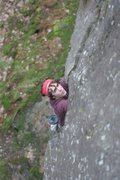 Rock Climbing Photo: an early spring climb in Marquette, MI