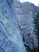 Rock Climbing Photo: Gray Eagle, CA High Country