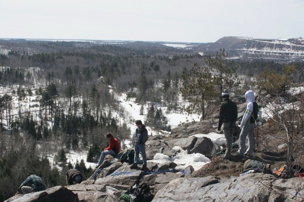 Top of Slugg's Bluff (early spring)