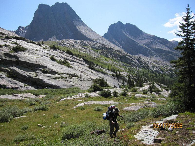 Rock Climbing Photo: Vestal Peak - Wham Ridge