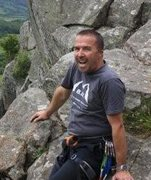 Rock Climbing Photo: At Tremadoc, Wales. Showing respect for the Main M...