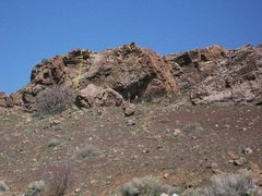Rock Climbing Photo: This route is called Bring your lunch and is just ...