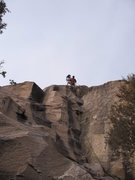Rock Climbing Photo: Setting up TR on Elementary Corner with Elementary...