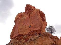 Rock Climbing Photo: Andrew G fINGERINGxENA