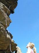 Rock Climbing Photo: Beautiful women, rock, day.... what more could one...